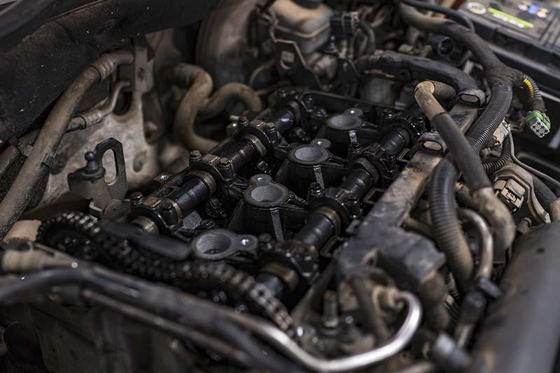 Foto eines Motors